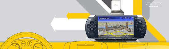 PSP-Go Explore GPS Kit