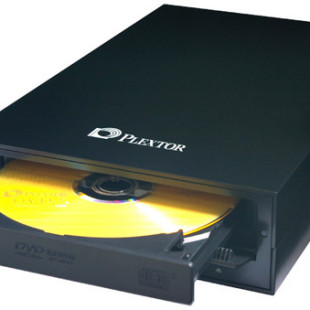 Latest external PC/Mac DVD ReWriter from Plextor