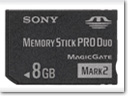 "Sandisk and Sony to expand ""Memory Stick Pro"" and ""Memory Stick Micro"" formats"