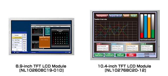 nec-8.9inch, 10.4 -tft-lcd module