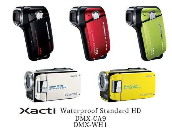 sanyo-xacti-waterproof cameras