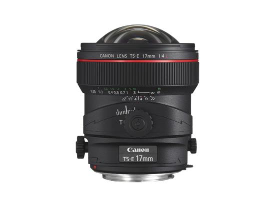 Canon-TS-E 17mm - Side