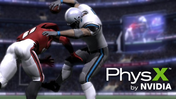 Backbreaker from Natural Motion Ltd uses NVIDIA PhysX