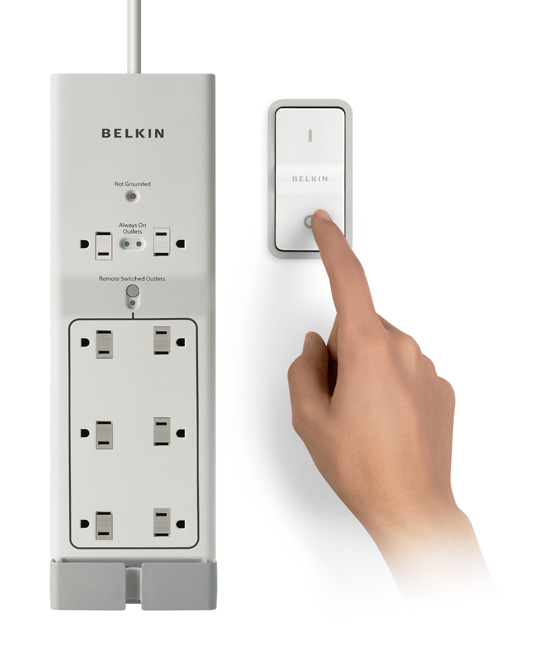 Belkin Conserve Energy-Saving 8-Outlet Surge Protector