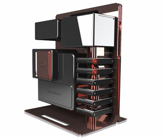 """level 10"" gaming tower prototype"