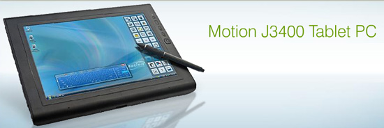 motion tablet j3400