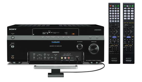 STR-DA6400ES-remote-&-DCAC