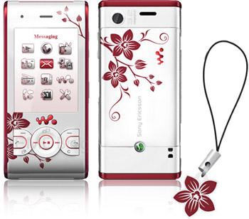 Sony Ericsson W595 Cosmopolitan Flower Edition Phone