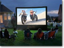 Open Air Home Screens Turn a Backyard into the Premier Outdoor Home Theater