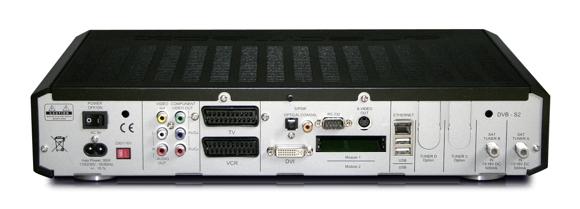 Dreambox dm8000 back