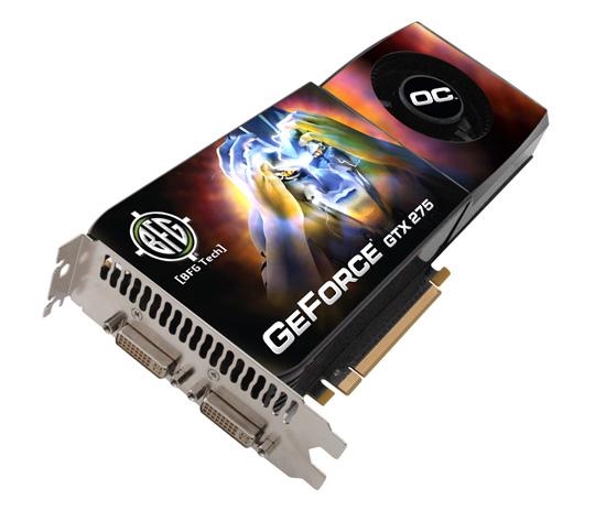 BFG GeForce GTX 275 OC