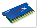 Kingston Technology Releases Intel-Certified DDR3 XMP SO-DIMMs