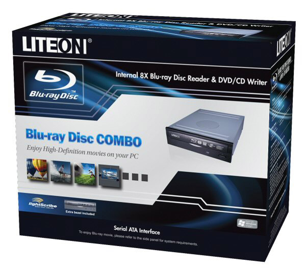 New optical drive Lite-On iHES208