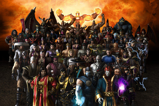 all mortal kombat characters pictures. Mortal Kombat