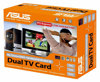 ASUS My Cinema-EHD3-100 Dual Hybrid TV Card