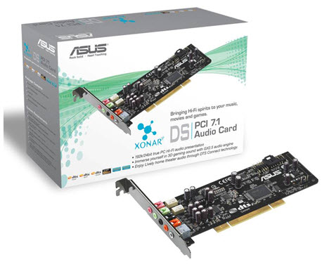 ASUS Xonar DS 7.1 channel audio card