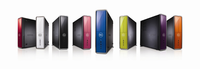 Dell-Inspiron Slim and Mini Tower Desktop