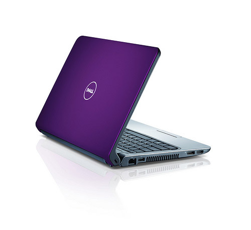 Dell Sstudio 14z notebook Purple Plum