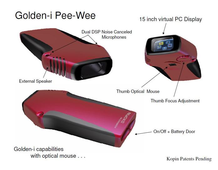 Kopin Golden i Pee Wee