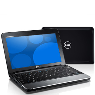 laptop Dell inspiron 10v-black