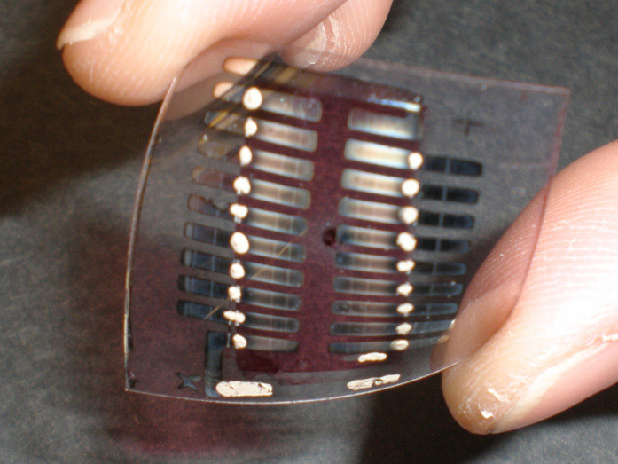 ultra small solar cell