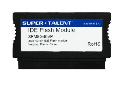 40 pin IDE Flash Disk Module (FDM) with Vertical connector