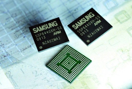 Samsung 45nm Application Processor s5pm02
