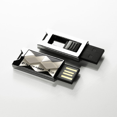 Silicon Power Touch 850 Crystal Disk USB Drive