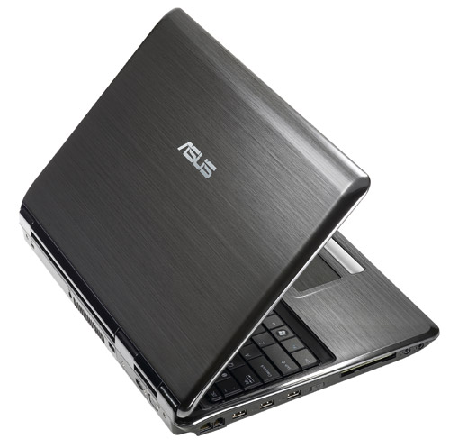 ASUS notebooks- Satin-brushed Aluminum finish