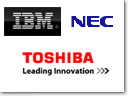 NEC Electronics and Toshiba Extend Chip Technology Development Agreements with IBM