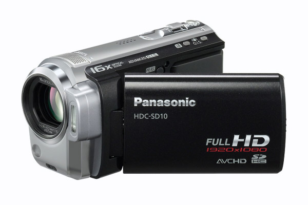 Panasonic HD Camcorder HDC SD10