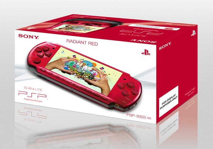 Radiant Red PSP