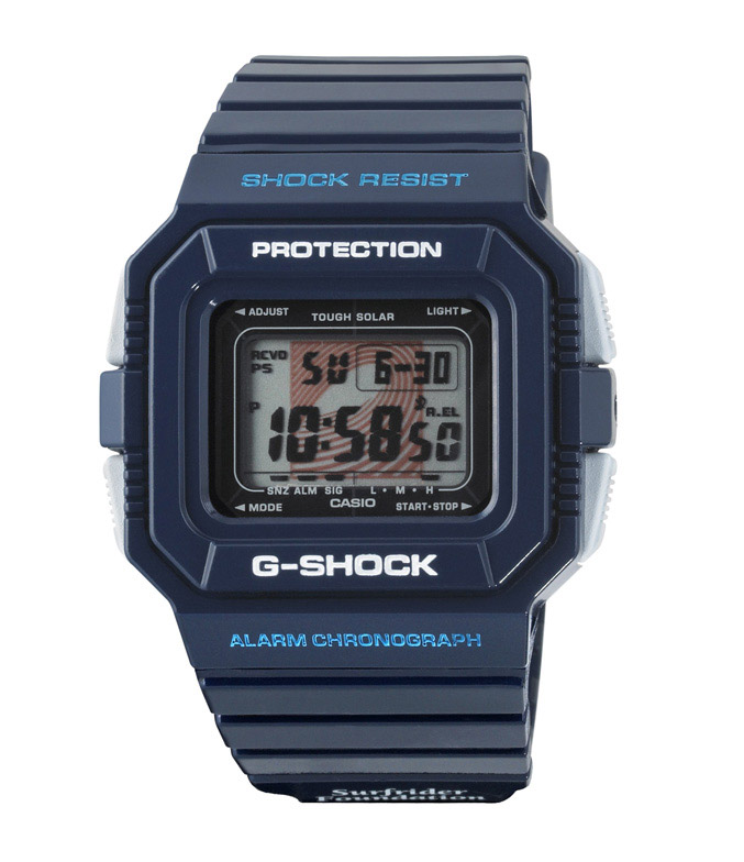 Casio G-SHOCK X SURFRIDER