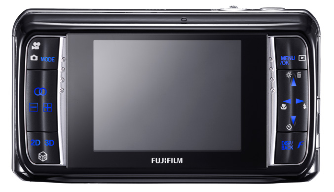 FinePix Real 3 W1 BACK