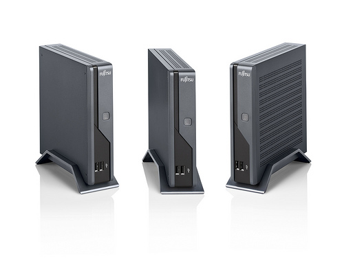 Fujitsu Futro S100 Thin Clients featruring the VIA Eden 1 watt processor
