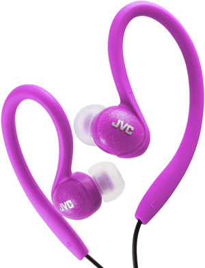 JVC HA-EBX85 Purple headphone