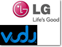 LG will be the first to introduce broadband HDTVs with the instant-access HD movie service from VUDU Inc.