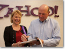 Microsoft and Yahoo Sign a Deal!