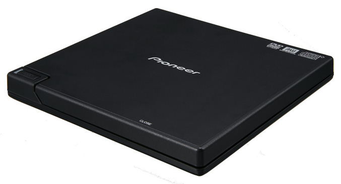 Pioneer DVR-XD09 Portable DVD/CD writer