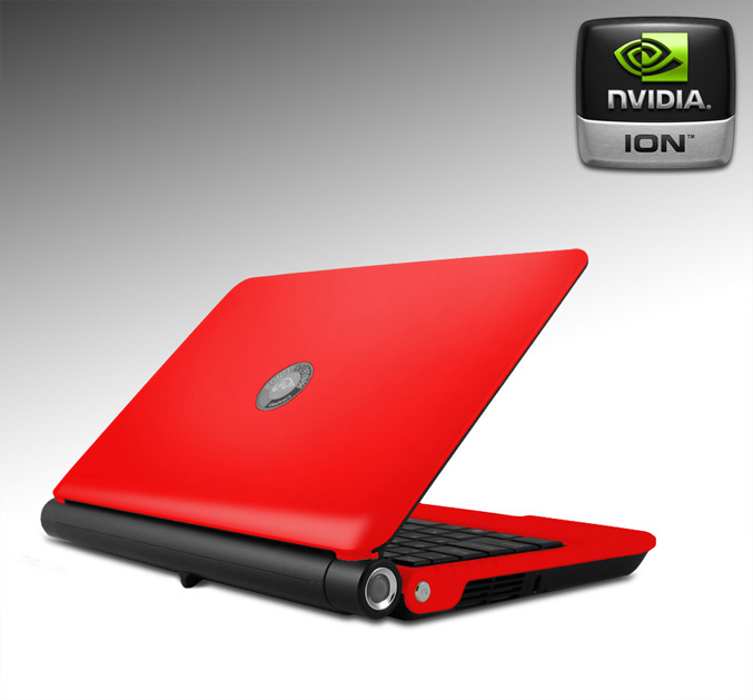"Mobii ION mini notebook (Red) 10,2"" ION  NB-ION7010-R"