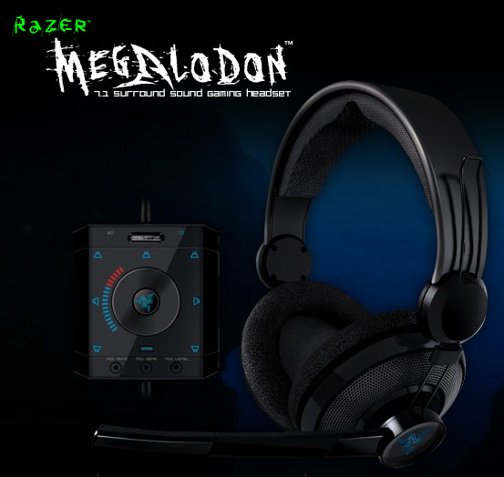 Razer Megalodon 7.1 Gaming Headphones Shipping Worldwide