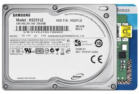 """Samsung 1.8"""" Spinpoint N3U"""