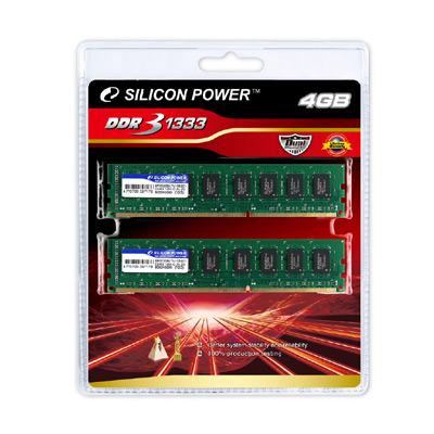 Silicon Power DDR3-1333-1066 Dual Channel Pack