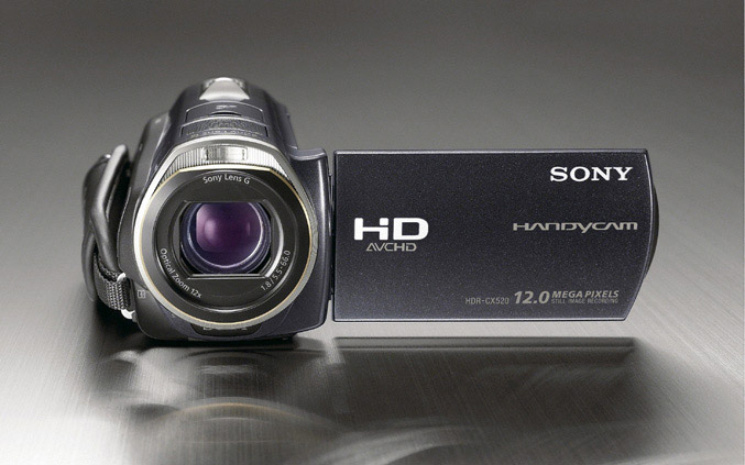 Sony Handycam-HDR-CX520VE/505VE
