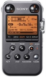 Sony PCM-M10 digital field recorder