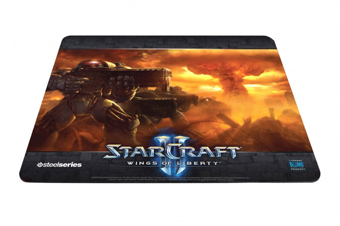 SteelSeries QcK Limited Edition StarCraft II Terran Marine Mousepad