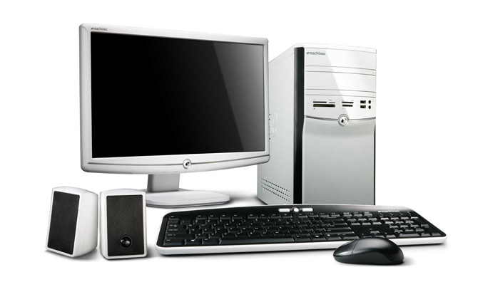 eMachines Contemporary Desktop PC