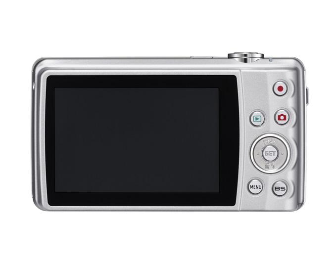 Casio EXILIM Zoom EX-Z280 back