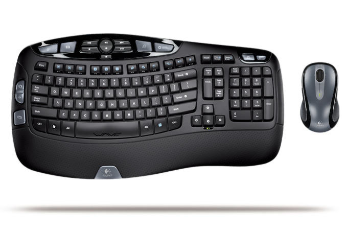 Logitech Cordless Desktop Wave