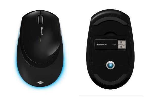 Microsoft Wireless Comfort Desktop 5000 mouse